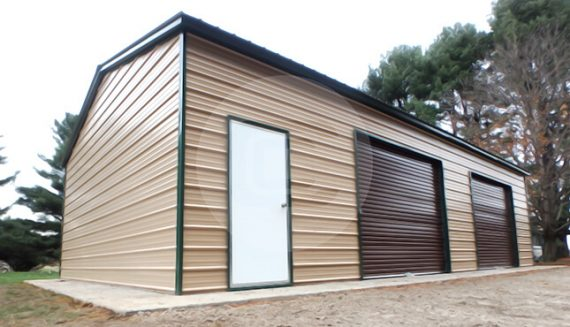 Garage with Side Entry