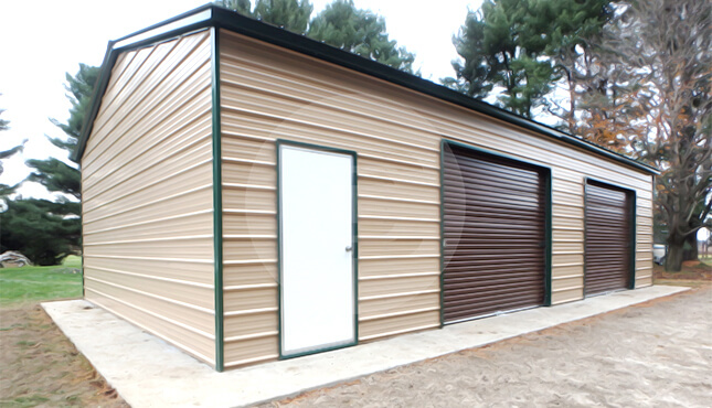 24×31 Side Entry Garage