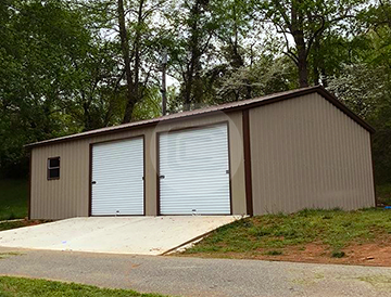 Prefab Side Entry Metal Garage