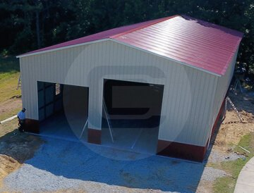 Metal RV Garage – 40x71x16