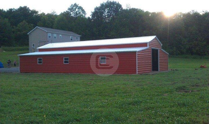 Red Carolina Barn
