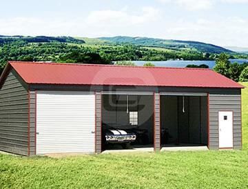 SIde Entry Garage -3 Car