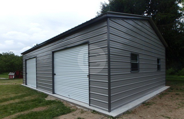 22×31 Side Entry Garage