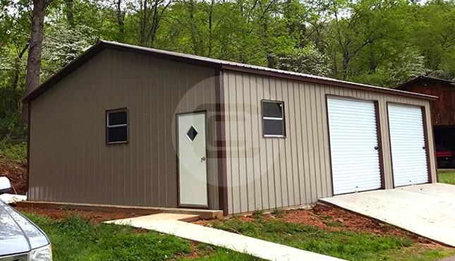 Side Entry Steel Garage for Sale