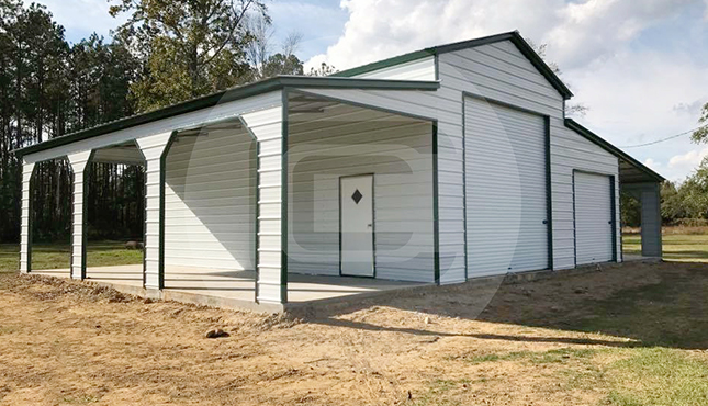 54×31 Ridgeline Step Down Barn