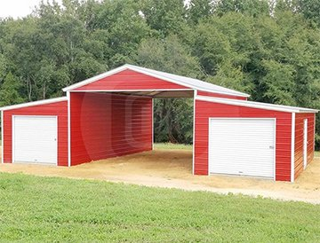 48x36x12/9 Step Down Roof Barn