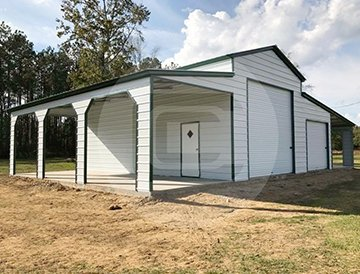Step-down-roof-carolina-barn