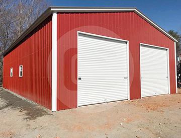 42×26 Raised Center Aisle Barn