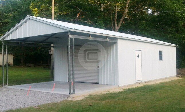 Custom Carports Product : Custom built rv carport metalbarnscentral
