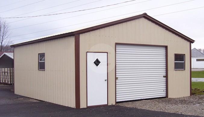 20x21 Garage