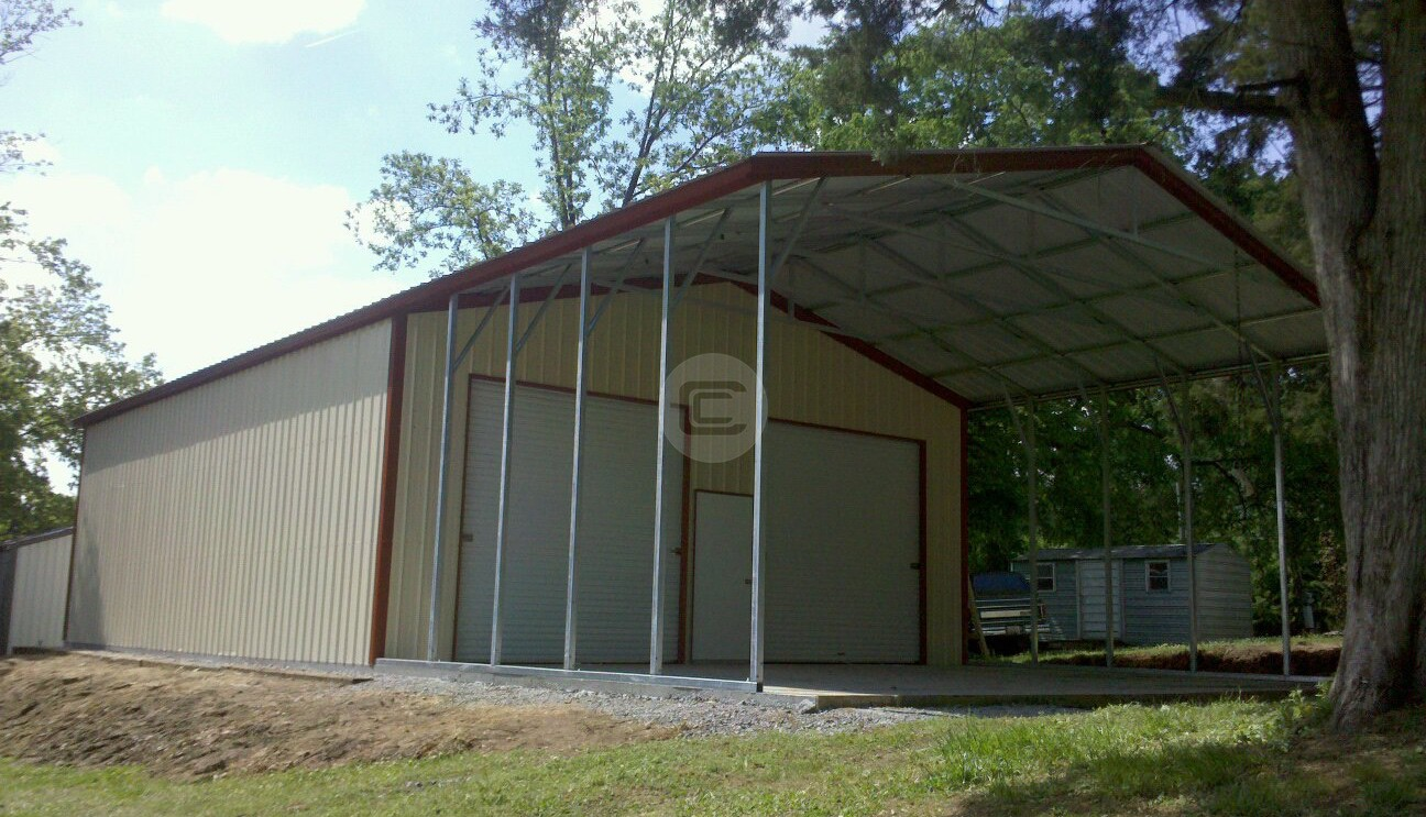 30×51 – Workshop/Garage with Roof Extension