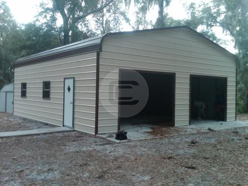 Prefabricated Enclosed Garage