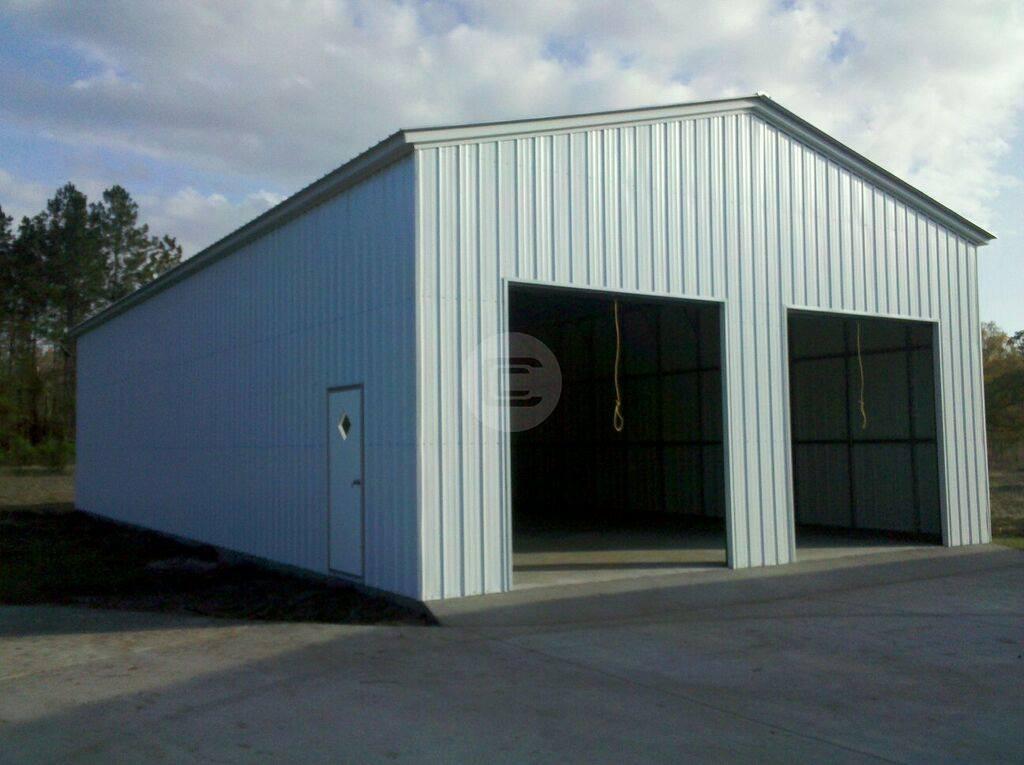 Steel Workshop Building 2