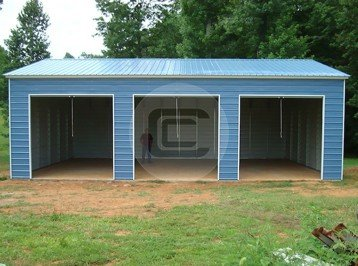 30x41x12 Triple Wide Garage Workshop