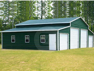 48x31x12' Step-Down Roof Barn
