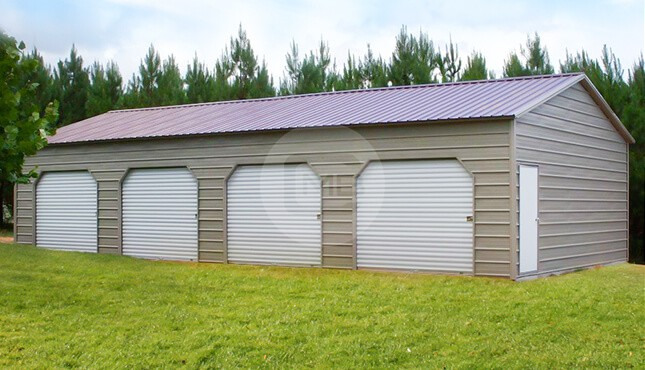 20×46 Side Entry Storage Building