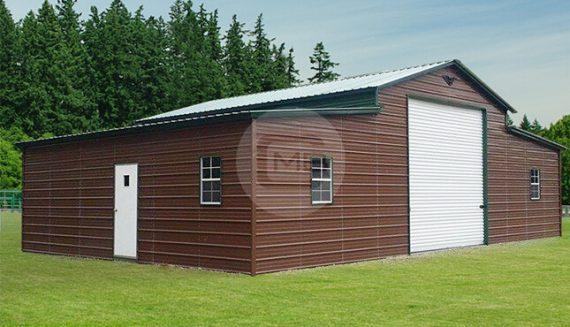 46x36x12-8 Horse Style Barn