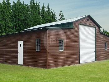 46x36x12-8 Horse Style Barn - Copy