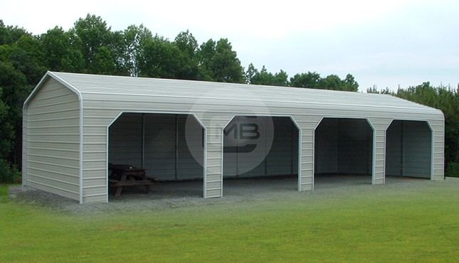 20×51 Prefab Enclosed Building