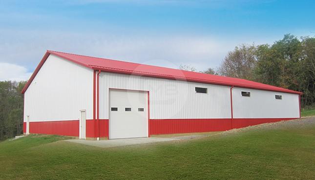 60x100 Prefab Metal Building