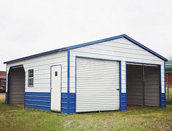 24x26-two-tone-metal-garage-p
