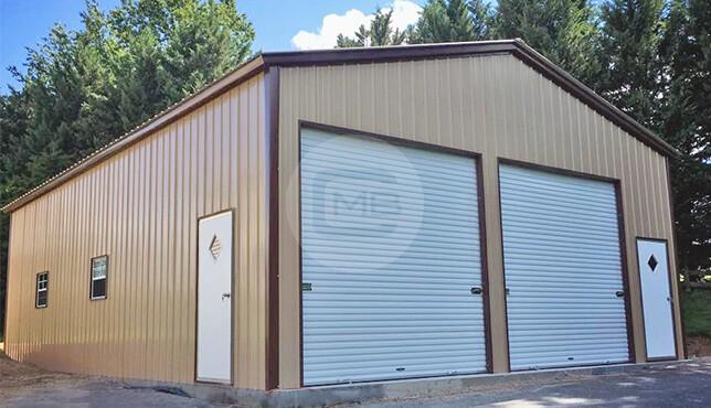 28×41 Metal Garage