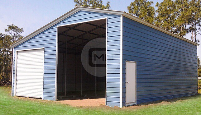30×36 Lean-to Building