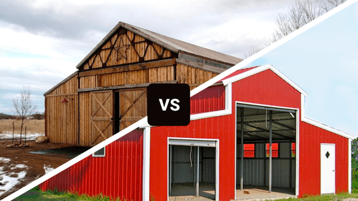 Pole Barns Vs Metal Buildings