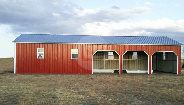24×51 Side Entry Garage / Workshop