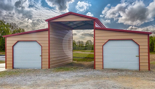 36x20 Lean to Barn