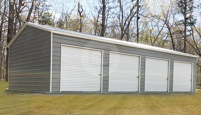 Garages for sale metal and steel garage buildings for 40x40 garage