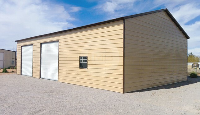 24×40 Metal Car Garage