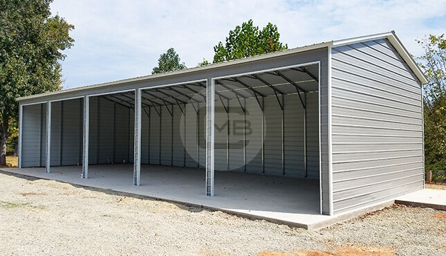 30×50 Metal Garage Building