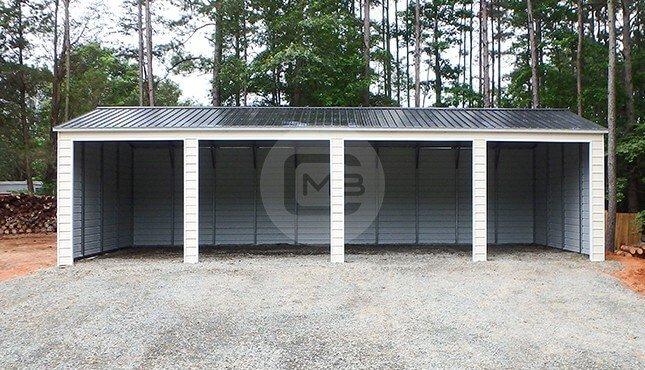 20×50 Four Car Garage