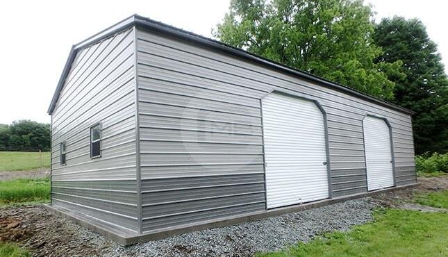 30x40-two-tone-metal-garage