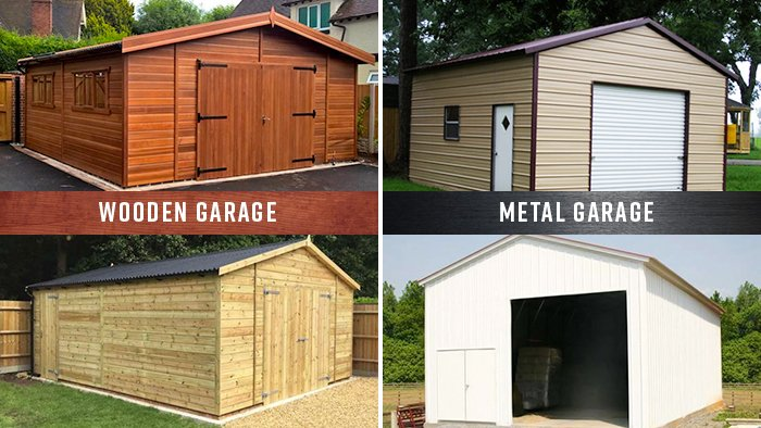 Why Metal Garages are Beneficial over Traditional Wooden Garage Structures