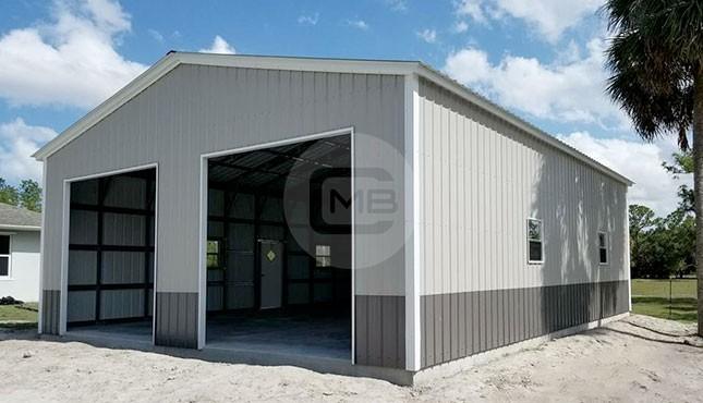 30x46 Metal Garage