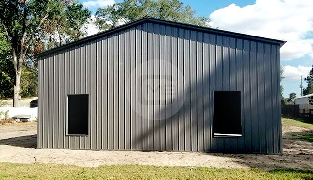 24×60 Metal Garage Building