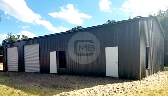 24x40 Metal Garage Building