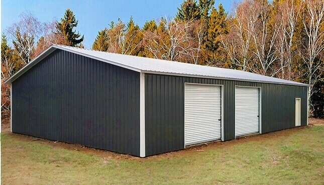 40x60 Metal Garage Building