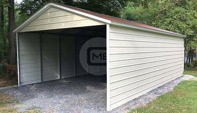 18×30 Three-Sided Carport