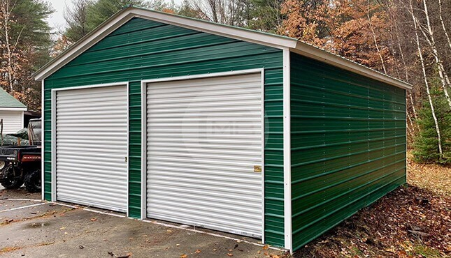 Metal Garages Lake Ivanhoe WI
