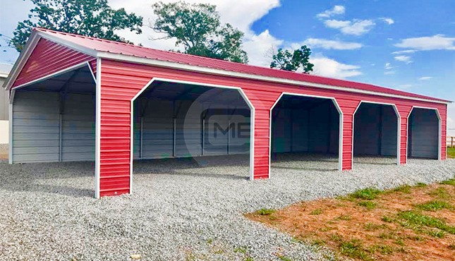 30 x 60 Vertical Roof Garage