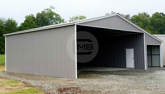 40×36 Lean-to Garage