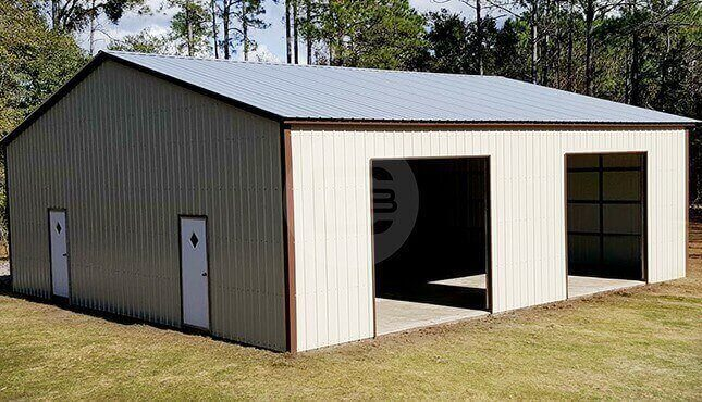 40x40 Metal Building 40x40 Steel Storage Building