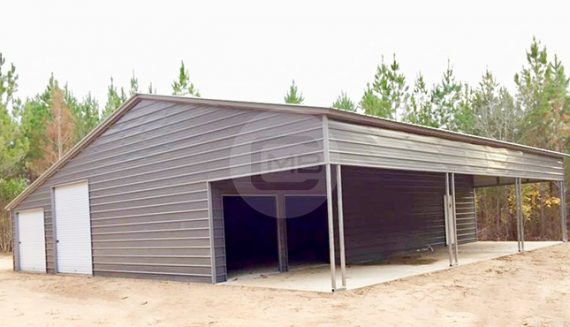 50x51 Continuous Roof Barn