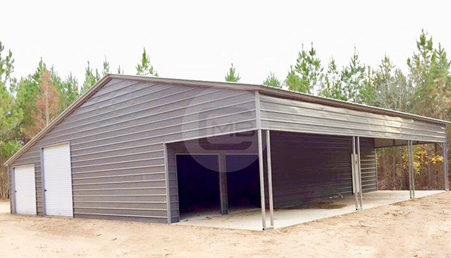 50×51 Continuous Roof Barn