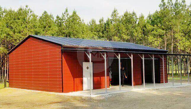 52×50 Side Entry Garage