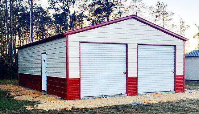 26 x 36 Steel Garage