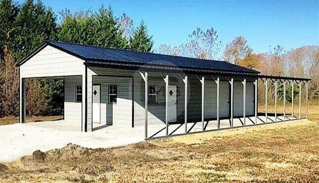 34 x 65 Utility Garage